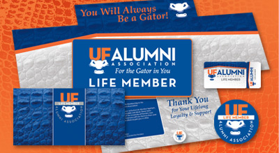 University of Florida Alumni Association Direct Mail Package